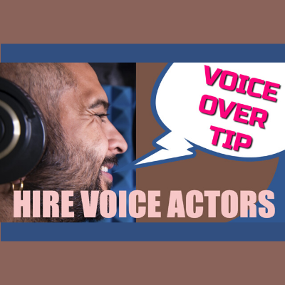 Tips for voice actor pro agencies and producers