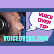 Voice over pro tips voiceovers.com